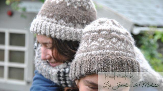 Mes premiers bonnets Jacquard