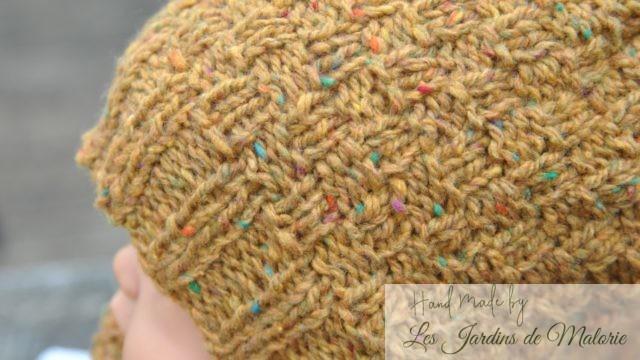 bonnet damier Scotch Tweed 6/8 ans