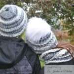 Mes snoods Nid d'abeille