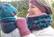 "Snoods et bonnet ""Cyclone"""