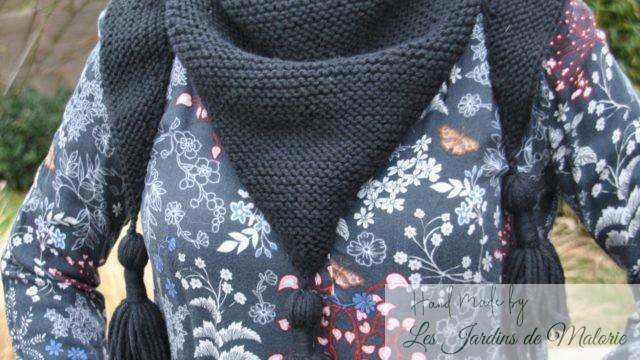 Trendy Châle noir