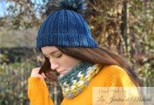 Bonnet bleu Petrol