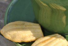 Gourmandises: Madeleines à la fleur d'oranger et à la menthe