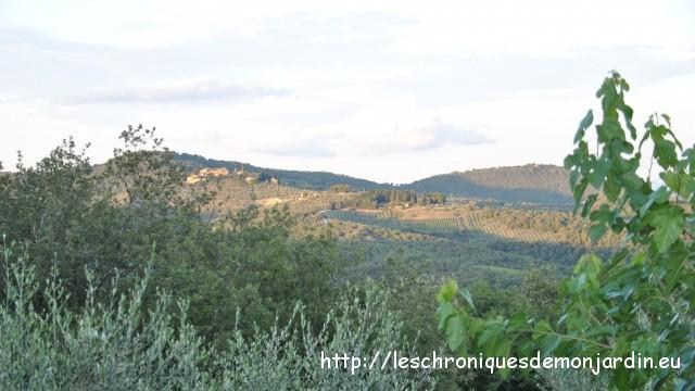 Vacances en Toscane (2): Un gîte dans le domaine d'Arceno à Castelnuova Berardenga