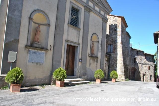 Vacances en Toscane (3): villages et château de Brolio...