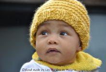 Petit bonnet jaune