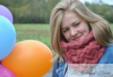"❆  Snood ""Vent de sable"""